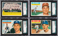 Baseball Cards:Sets, 1956 Topps Baseball Near Set (318/340) Plus Checklists (2). ...