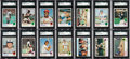 Baseball Cards:Sets, 1973 Topps Baseball Complete Set (660) Plus Team Checklists (24)....