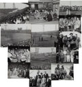 Baseball Collectibles:Photos, 1956 Brooklyn Dodgers Tour of Japan Photographs with Branch Rickey& Jackie Robinson Lot of 41. ...