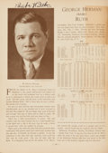 Baseball Collectibles:Others, 1933 Who's Who in Baseball Signed by 467 with 63 Hall of Famers!...