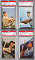 Baseball Cards:Sets, 1953 Bowman Color Baseball Near Set (159/160). ...