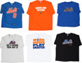 Baseball Collectibles:Others, Gary Carter Signed T Shirts Lot of 6 from The Gary CarterCollection....
