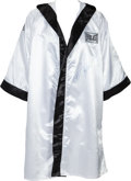 Boxing Collectibles:Autographs, 1990's Joe Frazier Signed Robe....
