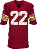 Football Collectibles:Uniforms, 1983-84 Doug Flutie Game Worn Boston College Eagles Jersey - With Built In Hand Warmers!...