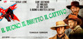 """The Good, the Bad and the Ugly (PEA, 1966). Italian Premiere 24 Sheet (Approx. 105"""" X 223"""") Franco Fiorenzi an..."""
