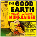 "Movie Posters:Drama, The Good Earth (MGM, 1937). Six Sheet (80"" X 81"").. ..."