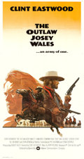 "Movie Posters:Western, The Outlaw Josey Wales (Warner Brothers, 1976). Three Sheet (41"" X76"").. ..."