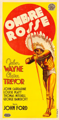 "Movie Posters:Western, Stagecoach (United Artists, 1939). Italian Poster (39.5"" X 80.5"")....."