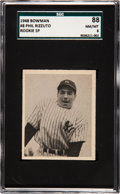 Baseball Cards:Singles (1940-1949), 1948 Bowman Phil Rizzuto (SP) #8 SGC 88 NM/MT 8....