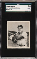 Baseball Cards:Singles (1940-1949), 1948 Bowman Willard Marshall (SP) #13 SGC 96 Mint 9 - Pop Two, NoneHigher. ...