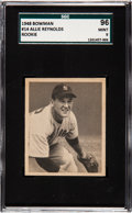 Baseball Cards:Singles (1940-1949), 1948 Bowman Allie Reynolds #14 SGC 96 Mint 9 - Pop Two, None Higher. ...