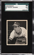 "Baseball Cards:Singles (1940-1949), 1948 Bowman ""Dutch"" Leonard (SP) #24 SGC 98 Gem 10 - The Ultimate SGC Example! ..."