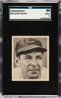 Baseball Cards:Singles (1940-1949), 1948 Bowman Augie Galan #39 SGC 96 Mint 9 - Pop Two, None ...
