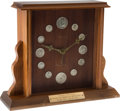 Baseball Collectibles:Others, 1977 Monte Irvin Old-Timers' Day Presentation Clock from The MonteIrvin Collection. ...
