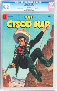 The Cisco Kid 20 Dell 1954 CGC NM 92 White Pages