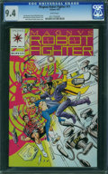 Modern Age (1980-Present):Science Fiction, Magnus Robot Fighter #11 (Valiant, 1992) CGC NM 9.4 White pages.
