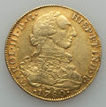 Colombia, Colombia: Charles III gold 8 Escudos 1780 NR-JJ VF - Damaged,...
