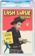 Golden Age (1938-1955):Western, Lash LaRue Western #3 (Fawcett, 1950) CGC NM 9.4 Off-whitepages....