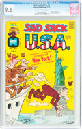 Bronze Age (1970-1979):Humor, Sad Sack USA #1 File Copy (Harvey, 1972) CGC NM+ 9.6 Off-white towhite pages....