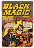 Golden Age (1938-1955):Horror, Black Magic #27 (Crestwood/Headline, 1953) Condition: VG+....