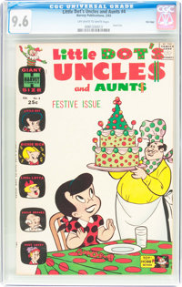 Little Dot's Uncles and Aunts #4 File Copy (Harvey, 1963) CGC NM+ 9.6 Off-white to white pages