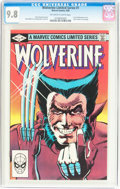Modern Age (1980-Present):Superhero, Wolverine #1 (Marvel, 1982) CGC NM/MT 9.8 Off-white to whitepages....