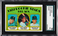Baseball Cards:Singles (1970-Now), 1972 Topps Carlton Fisk - Red Sox Rookies #79 SGC 96 Mint 9. ...