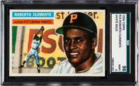1956 Topps Roberto Clemente (White Back) #33 SGC 96 MINT 9 - None Higher