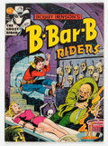 Golden Age (1938-1955):Horror, Bobby Benson's B-Bar-B Riders #14 (Magazine Enterprises, 1952)Condition: VG....