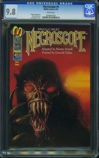 Necroscope #4 (Malibu, 1993) CGC NM/MT 9.8 White pages