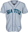 Baseball Collectibles:Uniforms, 1995 Alex Rodriguez Game Worn Seattle Mariners Jersey. ...