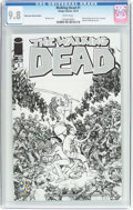 Modern Age (1980-Present):Horror, The Walking Dead #1 Wizard World Austin Sketch Edition (Image,2015) CGC NM/MT 9.8 White pages....