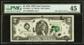 Error Notes:Ink Smears, Fr. 1935-L* $2 1976 Federal Reserve Star Note. PMG Choice ExtremelyFine 45.. ...