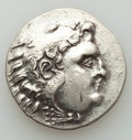 Ancients:Greek, Ancients: Lot of two AR and three AE coins (4th-1st centuries BC).About Very Fine... (Total: 5 coins)