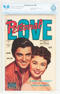 Golden Age (1938-1955):Romance, Personal Love #28 (Famous Funnies Publications, 1954) CBCS VF/NM 9.0 White pages....