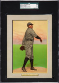 Baseball Cards:Singles (Pre-1930), 1910-11 T3 Turkey Red Cy Young (Checklist Back) #42 SGC 70 EX+ 5.5....
