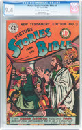 Golden Age (1938-1955):Religious, Picture Stories from the Bible #3 New Testament (EC, 1946) CGC NM9.4 Off-white to white pages....