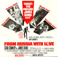 "Movie Posters:James Bond, From Russia with Love (United Artists, 1964). Six Sheet (81"" X81"").. ..."