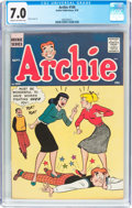 Silver Age (1956-1969):Humor, Archie Comics #104 (Archie, 1959) CGC FN/VF 7.0 Cream to off-white pages....