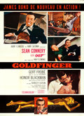 "Movie Posters:James Bond, Goldfinger (United Artists, 1964). French Grande (45.5"" X 63"")Style B.. ..."