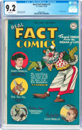 Golden Age (1938-1955):Non-Fiction, Real Fact Comics #2 (DC, 1946) CGC NM- 9.2 White pages....