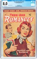 Golden Age (1938-1955):Romance, Teen-Age Romances #29 (St. John, 1953) CGC VF 8.0 Off-whitepages....