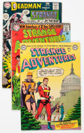 Silver Age (1956-1969):Science Fiction, Strange Adventures Group of 53 (DC, 1952-73) Condition: Average GD/VG.... (Total: 53 Comic Books)