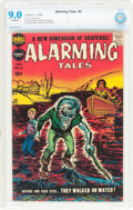 Silver Age (1956-1969):Horror, Alarming Tales #3 (Harvey, 1958) CBCS VF/NM 9.0 Off-white pages....