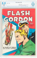 Golden Age (1938-1955):Science Fiction, Four Color #10 Flash Gordon (Dell, 1942) CBCS FN- 5.5 (Trimmed)Off-white pages....