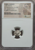 Ancients:Greek, Ancients: CARIA. Caunus. Ca. 490-370 BC. AR hemidrachm (2.65gm). NGC Choice VF ★ 5/5 - 4/5...