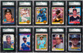 Baseball Cards:Sets, 1981 to 1993 Donruss Baseball Sets (11) from The Gary Carter Collection....