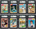 Baseball Cards:Sets, 1977-92 O-Pee-Chee Baseball Set Collection (9) from The Gary Carter Collection....