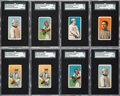 Baseball Cards:Lots, 1909-11 T206 SGC Graded Collection (8) from The Gary CarterCollection....