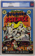 Golden Age (1938-1955):Non-Fiction, Picture Stories from Science #2 Gaines File pedigree 8/11 (EC,1947) CGC NM 9.4 Off-white to white pages....